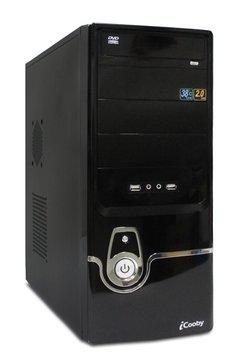 iCooby D503BS 4大/黑銀 電腦機殼