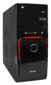 iCooby 6803BR 3大/黑紅 電腦機殼