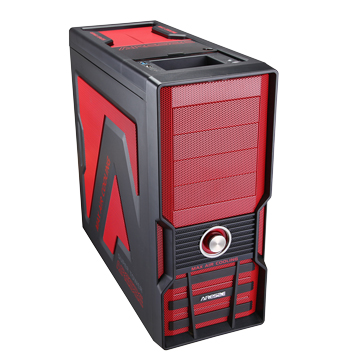 8002R 4大/紅 電腦機殼(福利品出清)