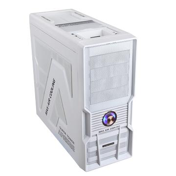 8002W 4大/白 電腦機殼(福利品出清)