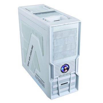 iCooby 8003W 4大/白 電腦機殼(福利品出清)