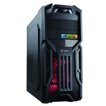 iCooby 6005B 2大3小/黑 電腦機殼