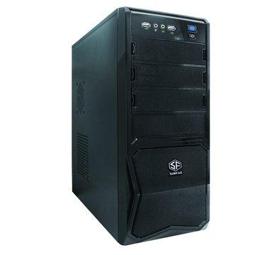 SUNFAR 順發 1618B 3大/黑 電腦機殼(福利品出清)