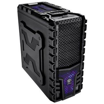 SUNFAR 順發6808B 4大7小/黑 電腦機殼