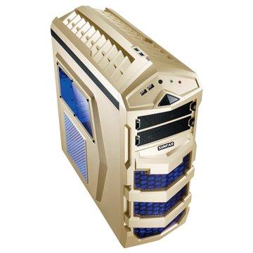 SUNFAR 順發7625G 2大7小/ 金 電腦機殼