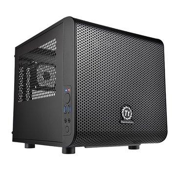 Thermaltake 曜越Core V1/Mini-ITX 迷你型電腦機殼(福利品出清)