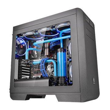 Thermaltake 曜越 Core V51中直立式開窗機殼搭配電源保護