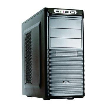 iCute 西華 天樞星 3大6小/全黑化 電腦機殼(福利品出清)