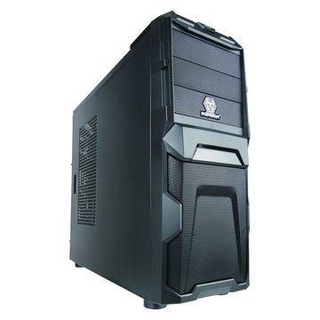 iCute 西華鋼鐵戰士/3大4小/全黑化 電腦機殼(福利品出清)