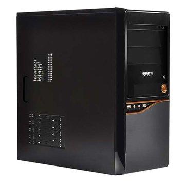 GIGABYTE 技嘉 GZ-F8/ROHS/3大1小/黑化 電腦機殼(福利品出清)