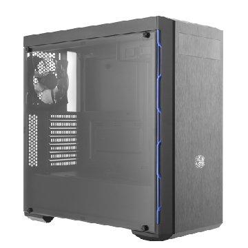 COOLER MASTER CM MasterBox MB600L 藍(透明壓克力側板)