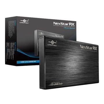 VANTEC 凡達克 NST-242S3-BK RX-2.5硬碟外接盒-USB 3.0