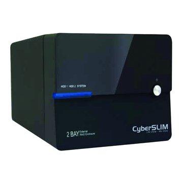 CyberSLIM 大衛肯尼 S82M-U3 3.5雙層硬碟外接盒