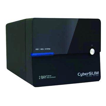 CyberSLIM 大衛肯尼 S82M-U3SR 3.5雙層硬碟外接盒