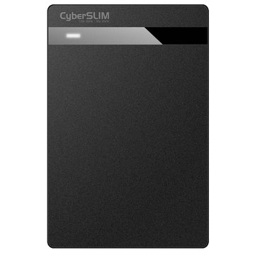 CyberSLIM 大衛肯尼 V25U2 2.5(黑)硬碟外接盒USB2.0