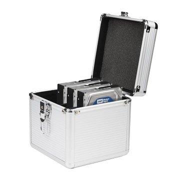 CyberSLIM B304 鋁殼硬碟保險箱 防震 防水