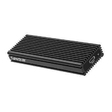 CyberSLIM M.2 NVMe PCI-E 外接硬碟盒TypeC