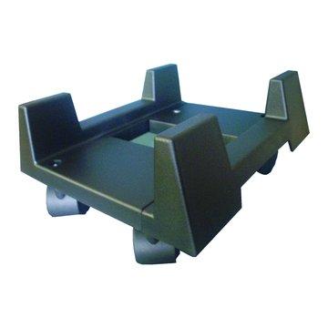 KTNET 廣鐸塑膠主機立架+輪子/黑色