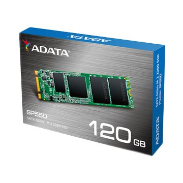 ADATA 威剛 SP550 120G M.2 SSD-3年