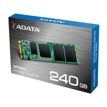 ADATA 威剛SP550 240G M.2 SSD-3年