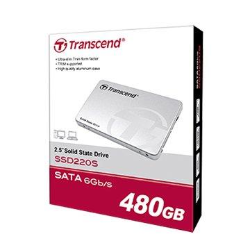 Transcend 創見 220 480G SATA3 TLC SSD