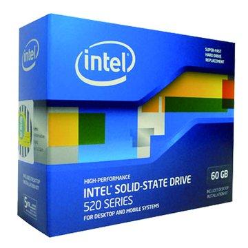 INTEL 英代爾 60G/520系列/SATA3 固態硬碟