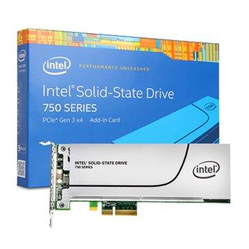 INTEL 英代爾 750 1.2TB PCIe 3.0 SSD彩盒版-5年
