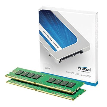 Micorn 美光BX200 240G SSD+DDR4 2133 8G組合