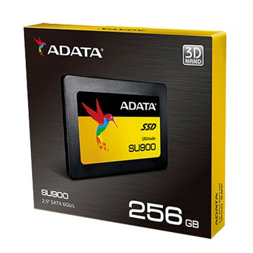 ADATA 威剛 SU900 256G SATA3 3D MLC SSD-五年