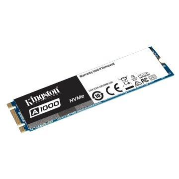 Kingston 金士頓 A1000 240GB M.2 PCIe 3DTLC SSD5年