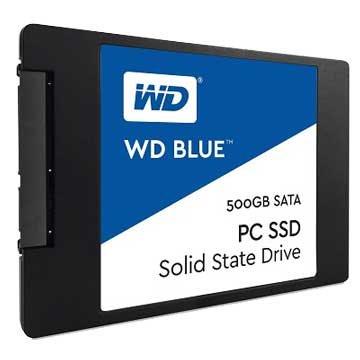 WD 威騰 藍標500G SATA3 SSD