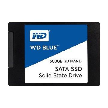 WD 威騰 藍標500G 3D/SATA3 SSD