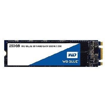 WD 威騰 250G/M.2 2280/ 3D-NAND/SATA3 SSD(藍標
