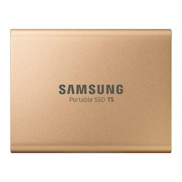 SAMSUNG 三星 T5 500GB USB3.1外接SSD固態硬碟(金)