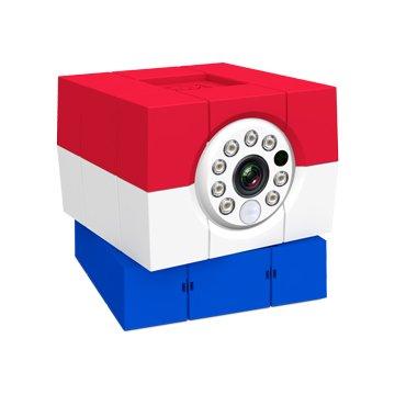 Amaryllo 愛瑪麗歐 iCam HD 360°無線網路攝影機 荷蘭旗