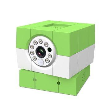 Amaryllo 愛瑪麗歐 iCam HD 360°無線網路攝影機 經典白 蘋果綠
