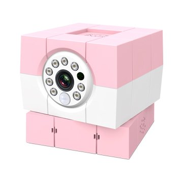 Amaryllo 愛瑪麗歐 iBabi HD 360°無線網路攝影機 粉紅色
