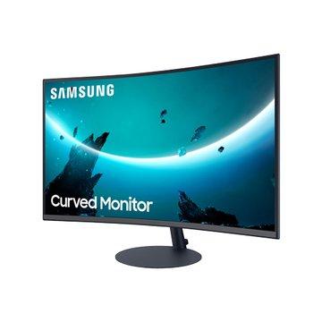 """SAMSUNG 三星 27"""" C27T550FDC曲/1000R(F-Sync/D-sub.DP.HDMI/VA) 螢幕"""
