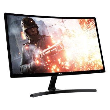 """acer 23.6"""" ED242QRA 薄邊框曲面電競144Hz(F-Sync/DVI.HDMI.DP/VA)"""