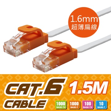Link All CAT.6扁線 / 1.5m