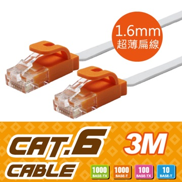 Link All CAT.6扁線 / 3m