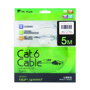 PC Park  Cat.6 5M超薄扁線