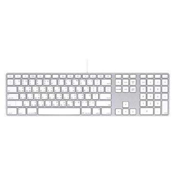 APPLE 蘋果 鍵盤含數字鍵盤(MB110TA/B)