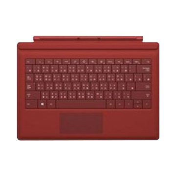 Microsoft 微軟 微軟Surface Pro 3 實體鍵盤(紅)