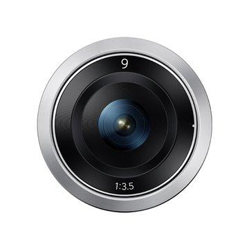 """SAMSUNG """"限量出清""""9mm-F3.5銀 鏡頭-福利品"""