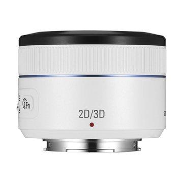 SAMSUNG 三星 45mm F1.8 2D/3D 白/大光圈定焦鏡-福利品