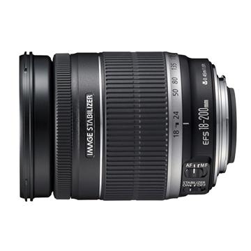 Canon 佳能 EF-S 18-200mm F3.5-5.6 IS 鏡頭