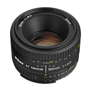 NIKON 尼康 AF 50mm F1.8 D(定焦鏡:人像)鏡頭