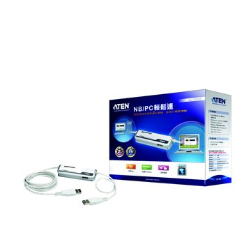 ATEN 宏正 CS168 NB/PC輕鬆連USB KVM