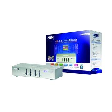 ATEN 宏正CS74U 4埠USB KVM多電腦切換器